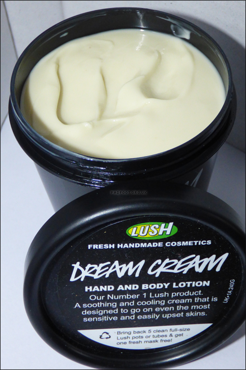 Lush Dream Cream Review