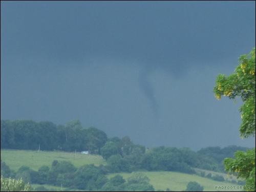 Dragon Goes Wild - Day 26 - Funnel Cloud