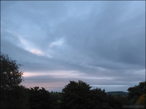 Dragon Goes Wild - 15th October - Cloudy Sunset